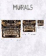 Decors muraux et Accessoires  Photo digit. double les intiss Intisse decor mural Collection Steampunk INI TYPEWRITER M 3PAN53CM  G45256