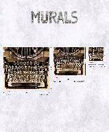 Decors muraux et Accessoires  Photo digit. double les intiss Intisse decor mural Collection Steampunk INI TYPEWRITER M 5PAN53CM  G45257