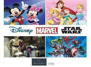 Papier peint Disney marvel star wars